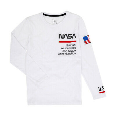 NASA Boys tee t shirt top long sleeve New with tags various sizes Astronaut