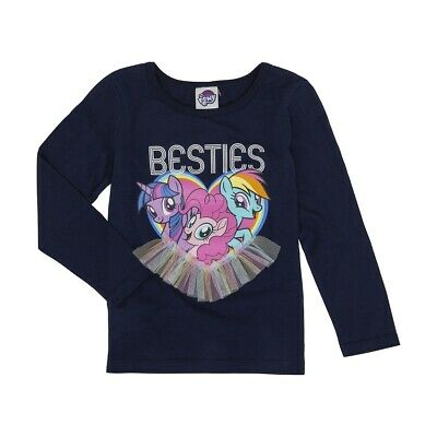 My Little Pony Girls Licensed long sleeve tee t shirt top New Free postage