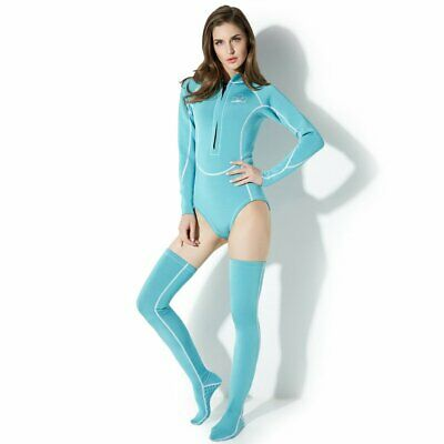 QVL1901 Female Adult Diving Suits Swimwear Couplet Thickened Diving Suit OK