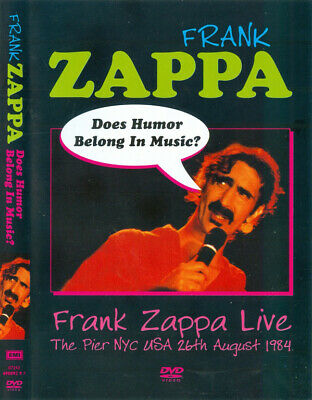 Does Humour Belong In Music? Used Dvd - Zappa, Frank - Rock & Pop Music Used Dvd