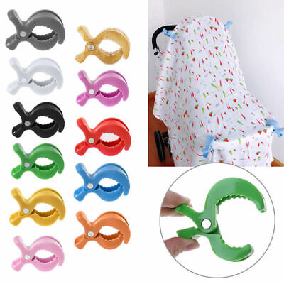 Practical Car Seat Accessories Baby Toys Stroller Peg Hook Cover Blanket Clip