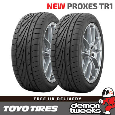 2 x 205/55/16 R16 91W Toyo Proxes TR-1 (TR1) Road Tyres - 2055516 New T1-R