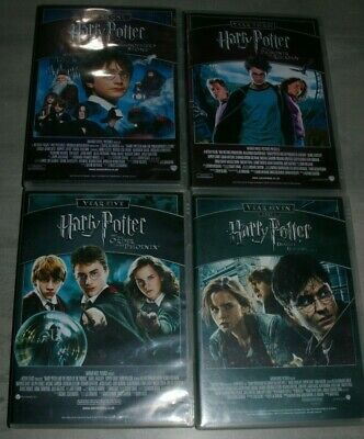 Harry Potter - Complete Movie Collection 1-8 - DVDs PAL Region 2