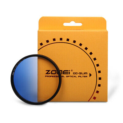 ZOMEI 52mm GC Ultra Slim Graduated Filter Kit Red Blue Orange Gray For Canon