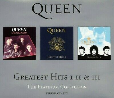 Queen - Greatest Hits I II & III. The Platinum Collection (3xCD 2000)