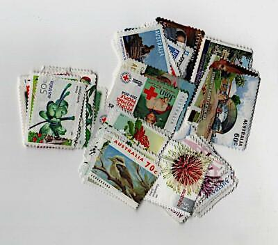 Australian Unfranked Stamps Off Paper No Gum Good Clean Lot Fv $70.60