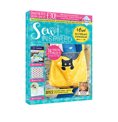 Crafters Companion - SEW INSPIRED - Issue 16 Summer Edition MAG-SI16 FREE UK P&P