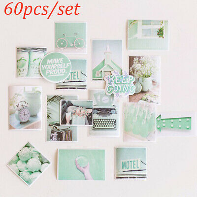 Background Material Album Decor Diary Label Paper Sticker Scrapbooking