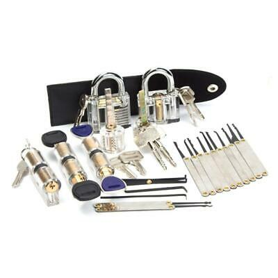 22 Pieces Of Transparent Lock Set Padlock For Beginners And Professionals
