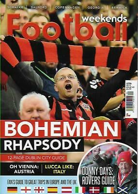 FOOTBALL WEEKENDS - Issue 43 April 2019 (NEW)*Post included to UK/Europe/USA