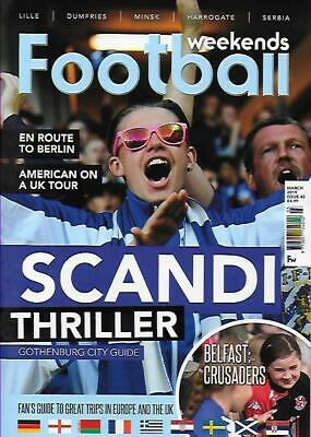 FOOTBALL WEEKENDS - Issue 42 March 2019 (NEW)*Post included to UK/Europe/USA