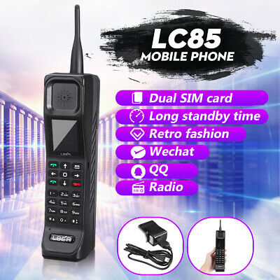 4400mAh Large Capacity Dual SIM Standby Retro Vintage Cellphone Mobile Phone