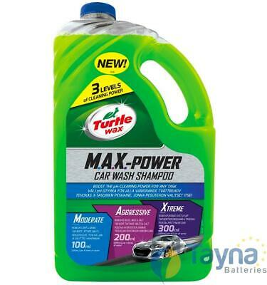 Turtle Wax Max Power Auto Wash Shampoo 2.95 Litre