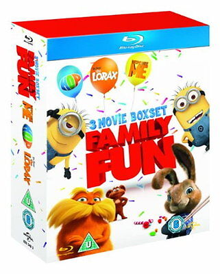 Dr Seuss' The Lorax / Despicable Me / Hop (Triple Pack) [New Blu-ray]