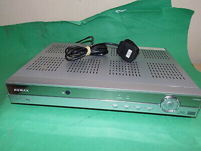 HUMAX DIGITAL TV FREEVIEW RECEIVER Recorder PVR-8000T 80GB