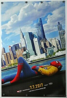 Spider-man Homecoming - original DS movie poster 27x40 D/S - GD