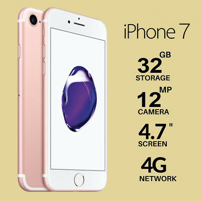 APPLE IPHONE 7 32GB ROSE GOLD GARANZIA 24 MESI NUOVO Smartphone ITALIA TOP