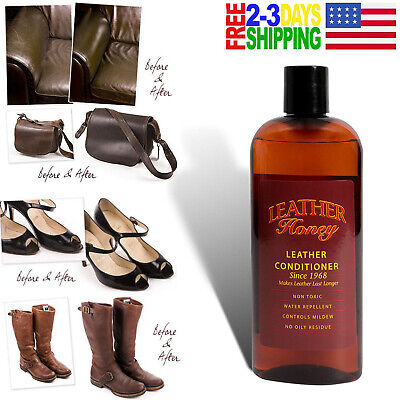 Leather Honey Leather Conditioner, Clothing & Shoe Care & Repair Made in the USA