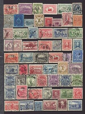 Nice Collection of Australian Pre-Decimal Stamps including SOME Officials, Used