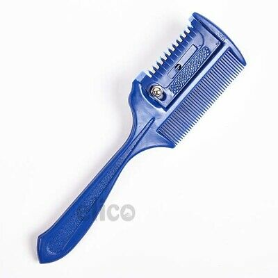 Elico Plastic Thinning Comb With Blade