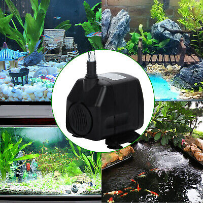 UK Hidom Submersible Water Pump for Aquarium Fish Tank Water Feature or Pond 60W