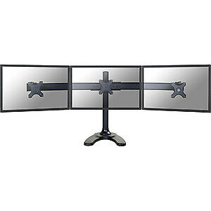 "NEW! Newstar Tilt/Turn/Rotate Triple Desk Stand for Three 10-27"" Monitor Screens"