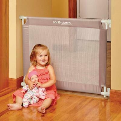 """North States 42.6"""" Wide Portable Traveler Baby Gate, Fits 25.2""""-42.6"""" Wide NEW"""