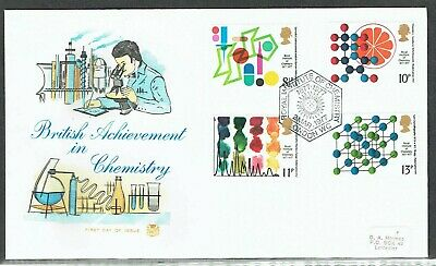 GB 1977 Chemistry set on FDC with Royal Institute postmark
