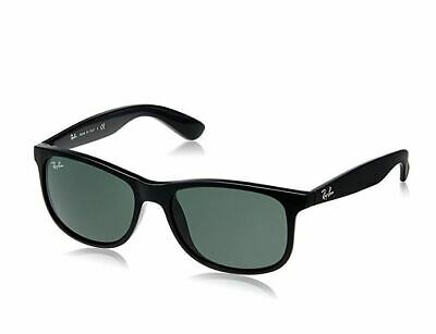 Ray-Ban RB4202 Andy 55mm Sunglasses (Black /Green Classic)