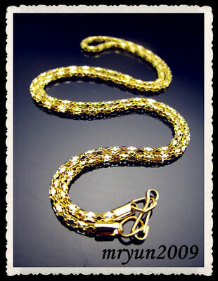 """21"""" Glod Free Necklace top plated finding Clasp snake With 20PCS Jewelry 8 chain"""