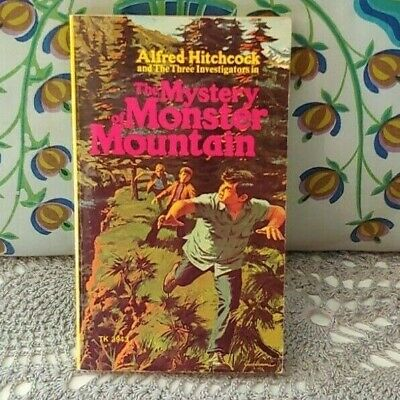 Alfred Hitchcock Three Investigators The Mystery Of Monster Mountain #20 Pb 1973