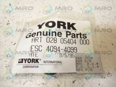 York 028 05404 000 O-Ring * New In Factory Bag *