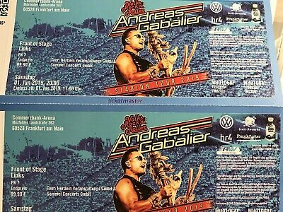 Andreas Gabalier in Frankfurt 01.06.19 - Front of Stage links 2x!!!