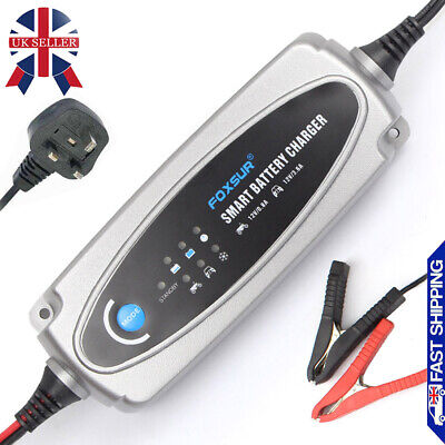 12V Car Motorcycle Battery Charger Lead Acid smart intelligent 5-Stage Automatic