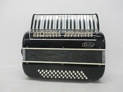 Atlas Sterling Vintage Piano Accordion #00498 48 Bass Keys | Made in Italy