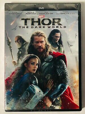 Thor II The Dark World (DVD) BRAND NEW FACTORY SEALED