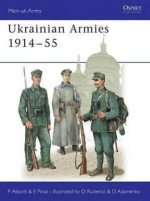 Ukrainian Armies 1914-55 by Peter Abbott (English) Paperback Book Free Shipping!