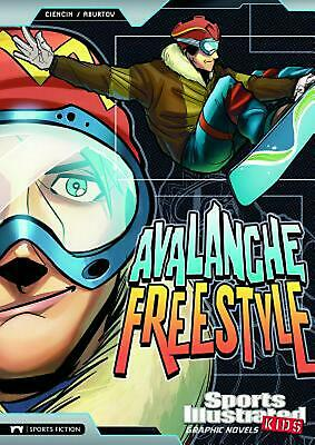 Avalanche Freestyle by Scott Ciencin (English) Library Binding Book Free Shippin