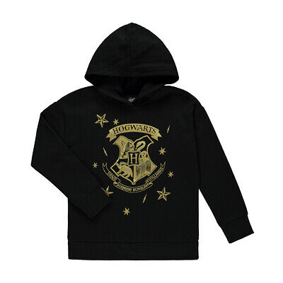 Harry Potter Hogwarts Girls Hoodie top various sizes free postage Brand New!