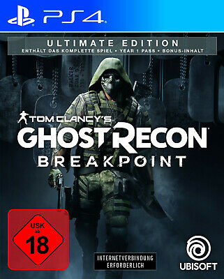 Ghost Recon - Breakpoint Ultimate Edition PS4 / Neu & OVP / Release: 01.10.2019