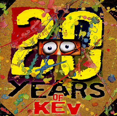 >> (COMEDY) KEVIN BLOODY WILSON / 20 YEARS OF KEV - 2 CD SET - signed by the MAN