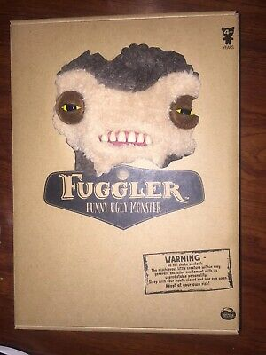 a1404f99caa093 Spin Master FUGGLER Funny Ugly Monster Fuzzy Brown Lil Demon 12 in Rare NEW