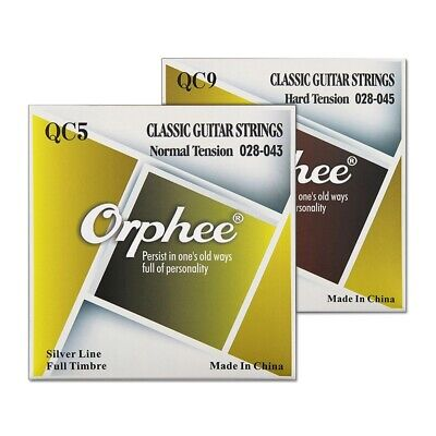 Orphee Corde Per Chitarra Acustica Serie Qc Medium Light Extra Light String C2O6