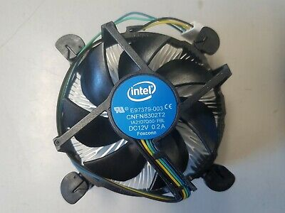 New genuine Intel Aluminum CPU Cooler Fan for Pentium i3 i5 i7 LGA1155 1150 1151