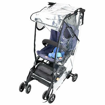 Stroller Rain Cover Stroller Weather Shield Universal  Waterproof  Clear Plastic