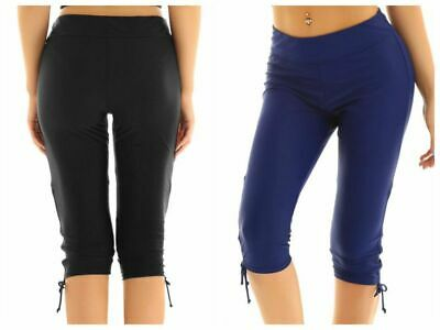 b8888e9ee3 Womens Swimwear Board Shorts Beachwear Capris Swim Bottom Skinny Surfing  Tights