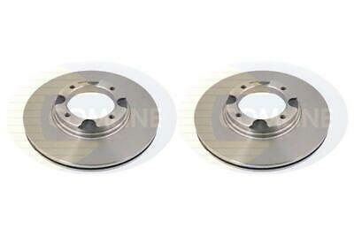 Drivemaster DMD165 Front Brake Discs x2 321mm Diameter Vented 30mm Thickness