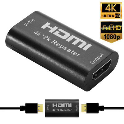 HDMI Repeater Signal Extender Coupler Joiner Connector Adapter 4K 1080p AC1472