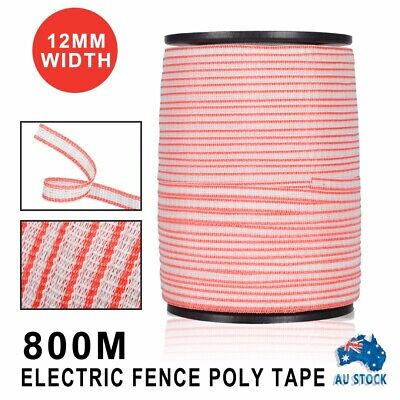 New Polytape Roll Poly Tape Electric Fence Energiser Stainless Steel Antirust