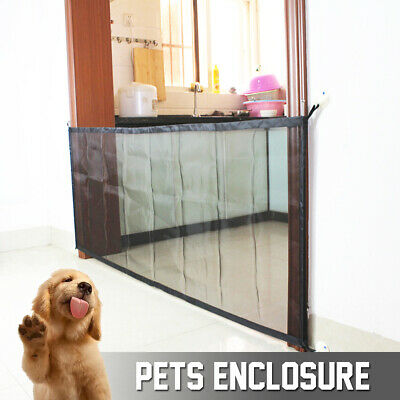 Pet Dog Mesh Net Gate Safe Guard Install Anywhere Pet Safety Enclosure Barrier ❤